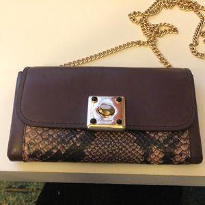 Coach burgundy purse/wallet